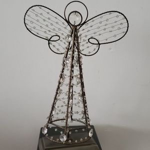 Pottery Barn Wired & Beaded Angel Decal